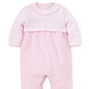 Kissy Kissy Baby Girls Sweater Knit Playsuit